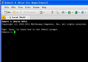 安全终端模拟软件|NetSarang Xshell 5.0 Build 1005