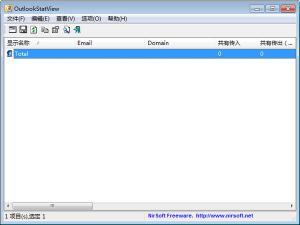 邮件管理软件|OutlookStatView v2.06