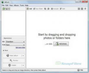 JAlbum For Mac 13.4 - 建立一个网络相册