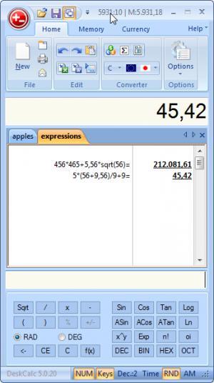 计算器|DeskCalc Pro v8.1.3