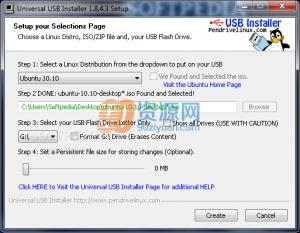 Universal USB Installer V1.9.6.8 绿色版_从u盘运行Linux系统