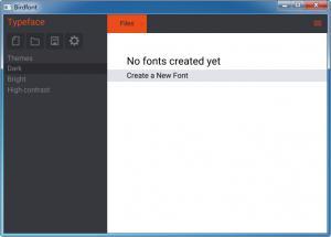 字体编辑器|BirdFont v2.17.0