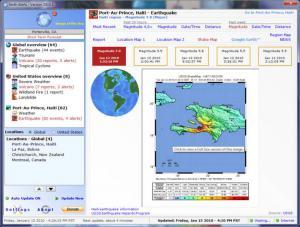 自然灾害预报|Earth Alerts 2016.1.28