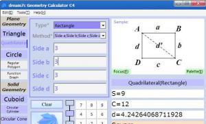 函数计算器|dream7c Geometry Calculator C4 v4.4.5