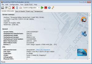 系统性能测试|PassMark BurnInTest Pro v8.1.1019