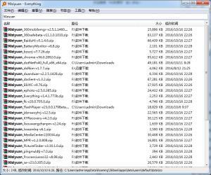 硬盘文件搜索工具|Everything v1.4.1.783b