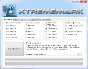 CPU性能测试软件|XtremeMark v5.6.1.405