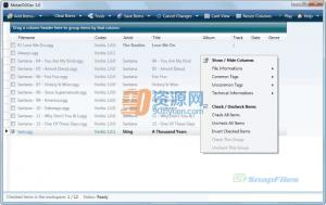 MetatOGGer 5.7.2.1 - 重命名Ogg和MP3文件