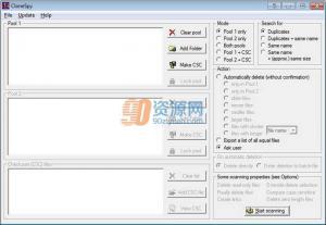文件管理CloneSpy 3.31