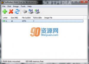 设置虚拟内存|SoftPerfect RAM Disk v4.0