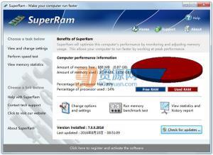 内存优化|SuperRam v7.11.7.2016