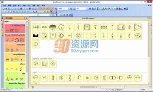 电气CAD软件 ProfiCAD v9.1.0 多国语言版