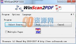 WinScan2PDF v3.33