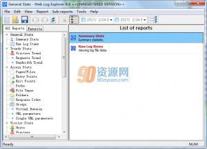 Web Log Explorer v8.8 Build 1317