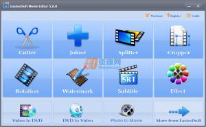 EasiestSoft Movie Edito(视频编辑处理器) v5.0