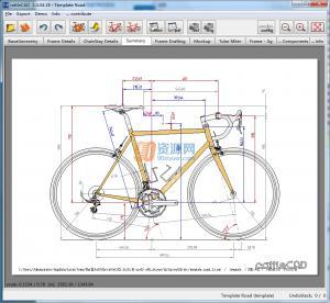 rattleCAD(自行车图纸设计工具) v3.4.04.18