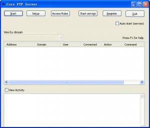 FTP服务器|Core FTP Server v1.2 Build 589.3