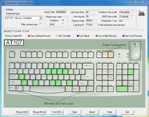 键盘测试KeyboardTest v3.2.1002