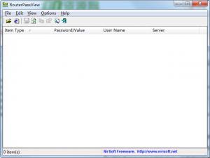 RouterPassView(路由器密码查看工具) v1.70