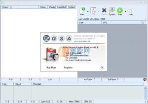 搜索引擎GSA Search Engine Ranker v11.71