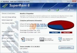 内存优化SuperRam v7.3.20.2017