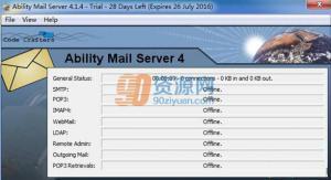 网络邮件服务器Ability Mail Server v4.2.2