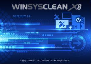 系统清理WinSysClean v18.0 Build 890