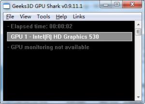 显卡检测GPU Shark v0.9.11.1