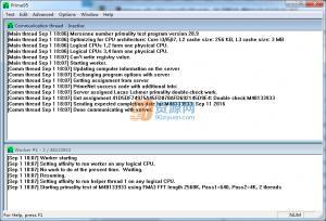 测试CPU稳定性Prime95 v29.1 Build 14