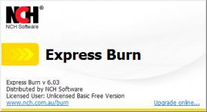 音频光盘录制Express Burn v6.03
