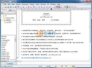 文本编辑器EditPlus v4.20 Build 1146