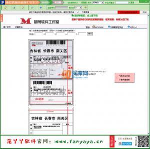 轻松Excel电子表格批量导入快递单打印软件 v6.9.074