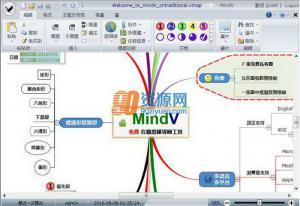 鹰翔MindV思维导图软件 v1.3.5