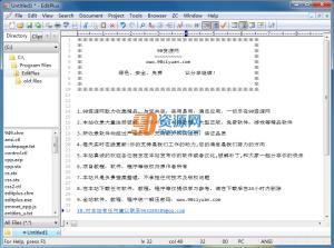 文本编辑器EditPlus v4.20 Build 1188