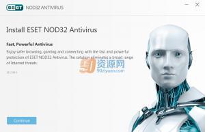 杀毒软件ESET NOD32 Antivirus v10.1.204.0