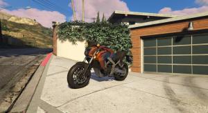 GTA5本田摩托车MOD v2.0