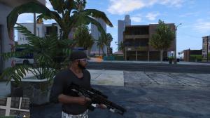 GTA5孤岛危机2M2014高斯步枪MOD v2.0