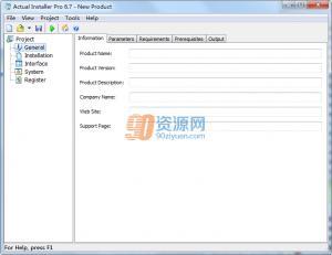 安装程序制作Actual Installer v6.7