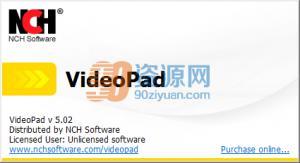 视频编辑VideoPad Video Editor v5.02